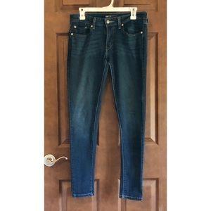 Levi's denim jean leggings 11 M